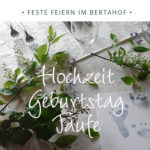Bertahof Restaurant feste feiern 2