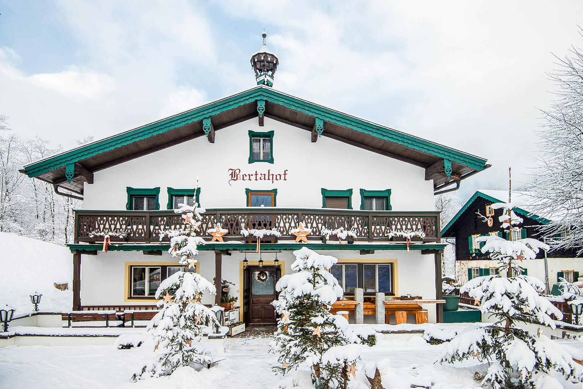 Restaurant Bertahof im Winter