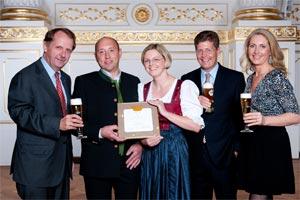 Restaurant Bertahof erhält die Bierkrone